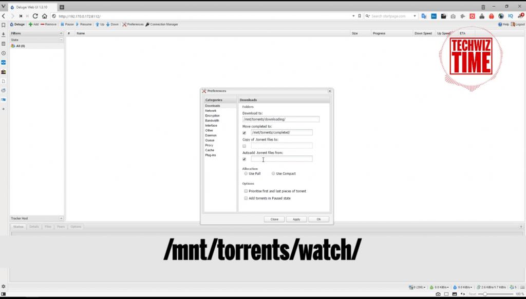The Ultimate Raspberry Pi Torrentbox feat VPN, Deluge, Samba